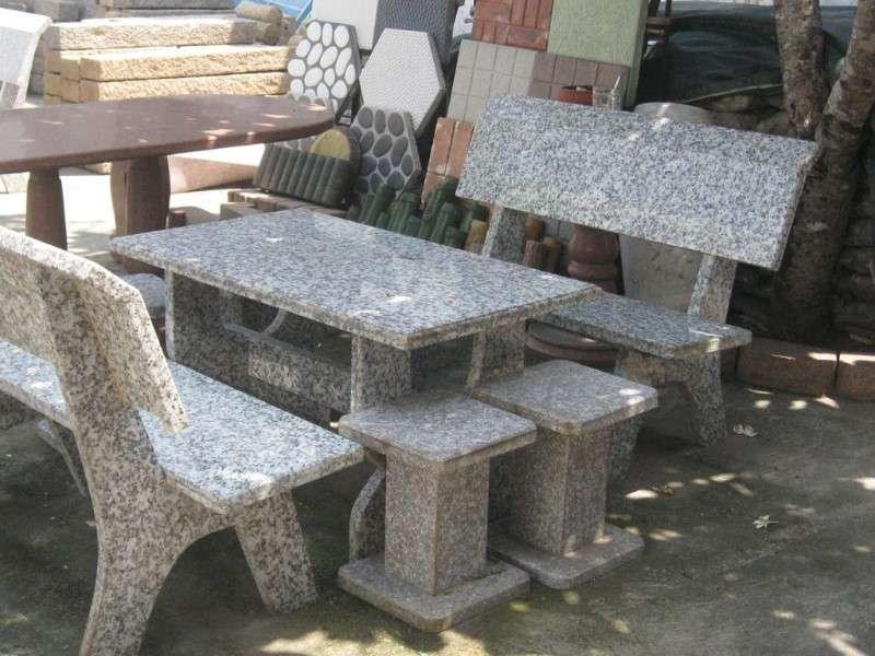 Bộ bàn ghế đá hoa cương
