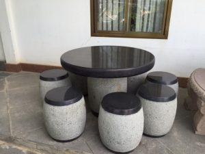 bán ghế đá tại Thuận An 1