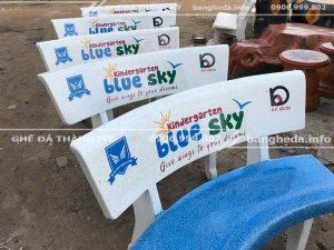 bàn ghế đá xanh 1