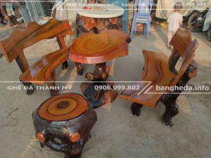 cửa hàng bàn ghế đá giả gỗ tp hcm