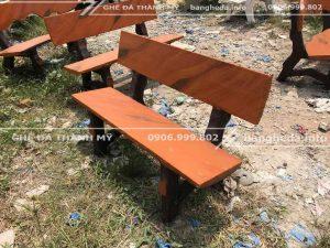 bàn ghế đá trường3 học