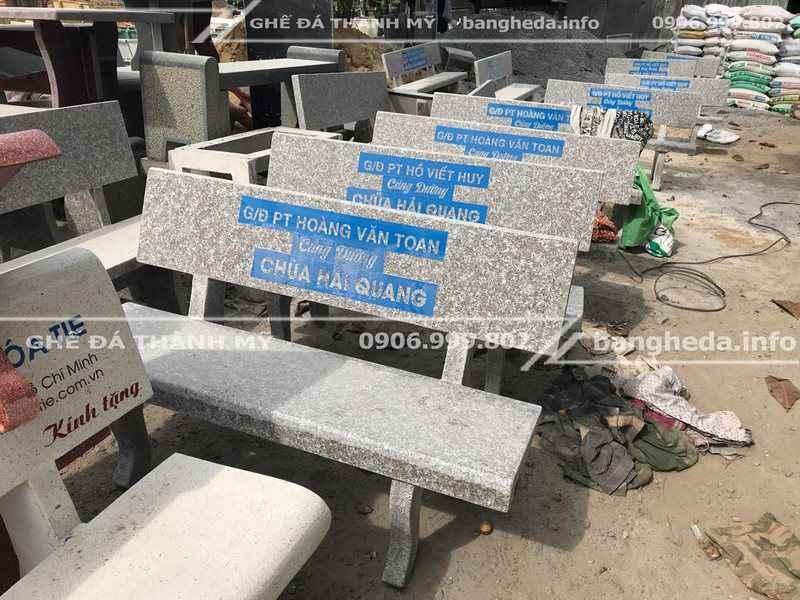 Đặt mua ghế đá công viên số lượng lớn giá sỉ 1