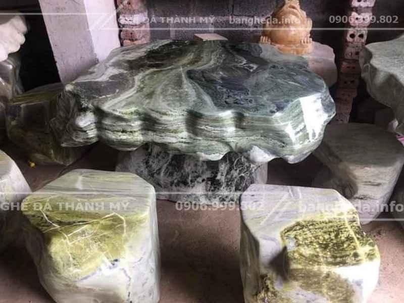 bàn ghế đá tự nhiên cao cấp 2