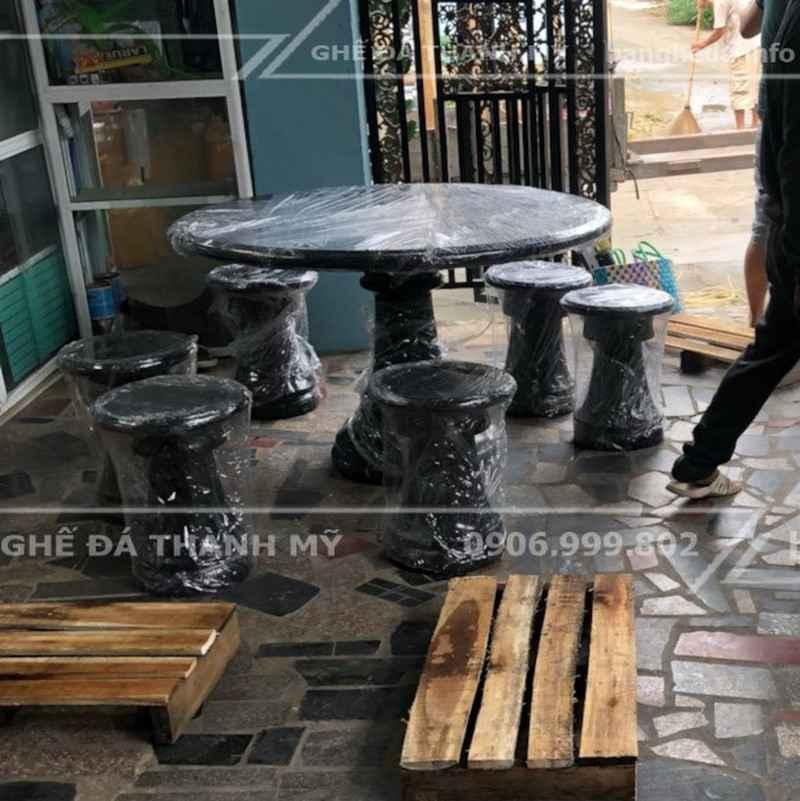 bàn ghế đá tự nhiên giá rẻ 4